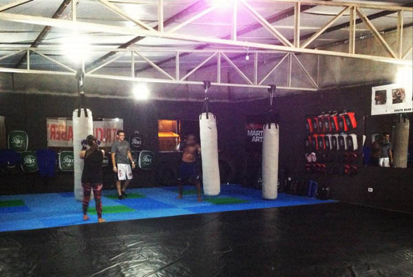 Training at Academia The Rock