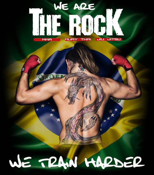 The Rock - We Train Harder
