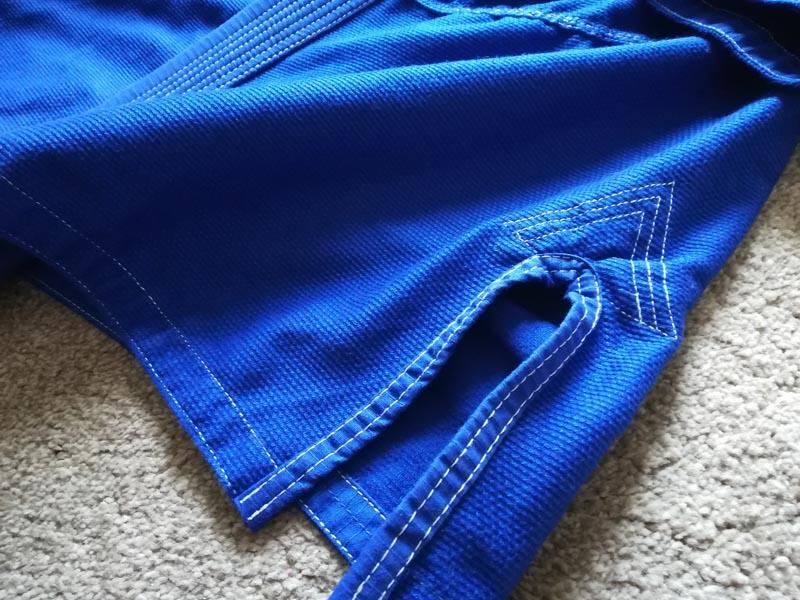 Blitz Vencedor BJJ Gi Reinforced Jacket Side Slits