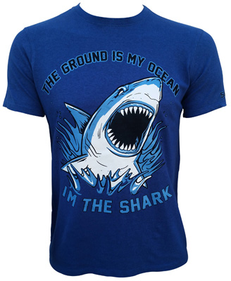 Submission fight co 39 the ground is my ocean 39 t shirt review for T shirt company reviews