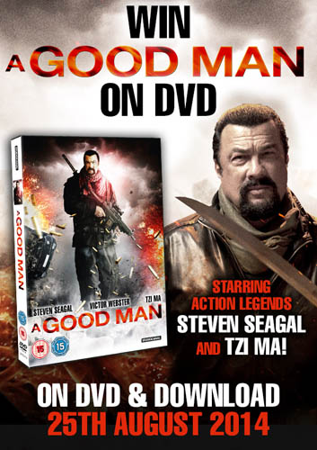 Win A Good Man on DVD