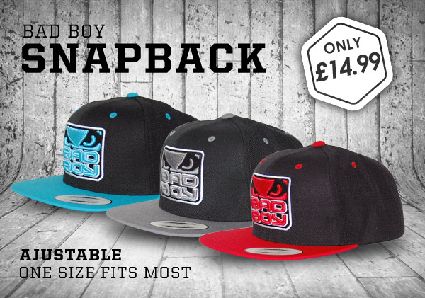 Bad Boy Snapback Caps Just £14.99 - Shop4 Martial Arts Blog 120476e061fe