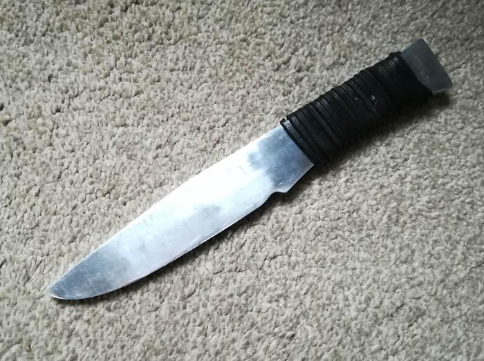 blitz aluminium knife