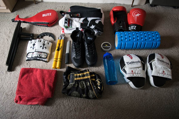 martial arts gear for Blitz pro coach holdall