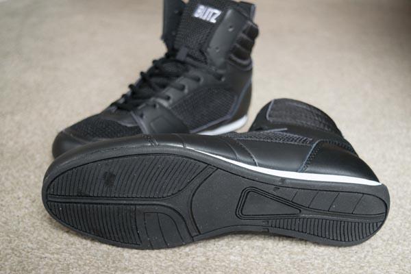 blitz titan boxing boots sole