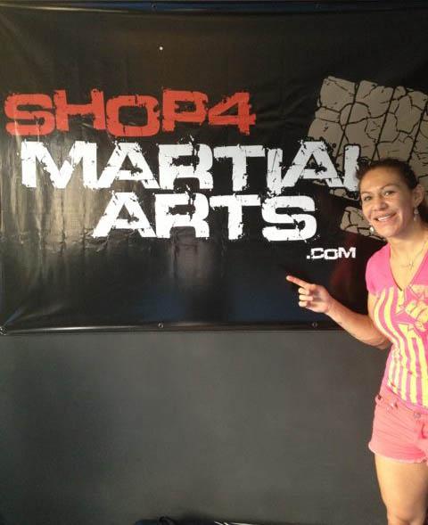 Shop4 Martial Arts at Cris Cyborg's Gym, THE ROCK