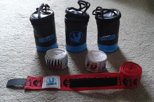 designer fighter hand wraps