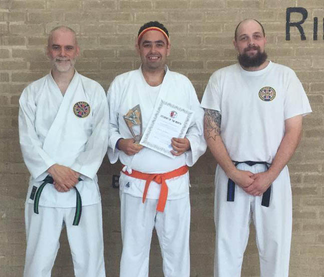 Jim at Atherstone Karate Club