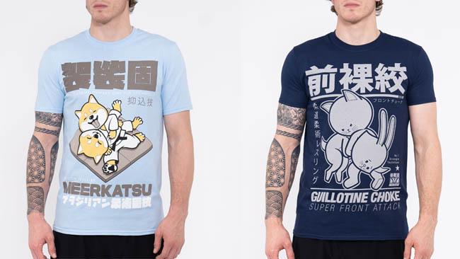 Meerkatsu Kawaii Grapplers T-Shirts