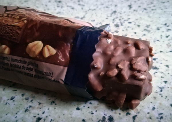 multipower power layer protein bar choclate peanut crunch