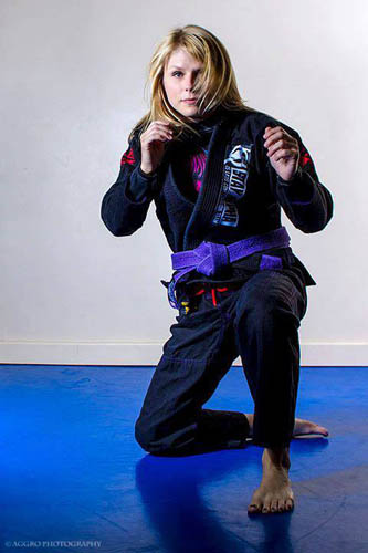 Sally Arsenault - Martial Artist of the Month [December 2013]