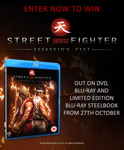 Win Street Fighter: Assassin's Fist on Bluray