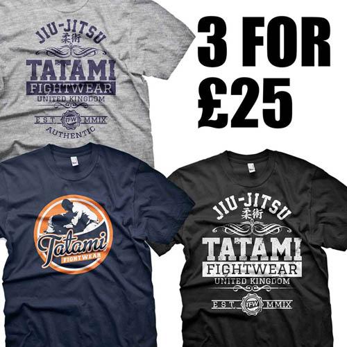 tatami-fightwear-3-t-shirts-25-quid