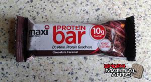 MaxiNutrition Protein Bar Review - Chocolate Caramel