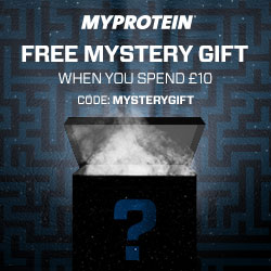Free Mystery Gift at Myprotein